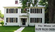 Ralph Waldo Emerson House in Concord, Massachussetts