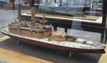Model of USS Cheyenne in Washington, DC