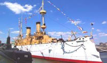 USS Olympia in Philadelphia, Pennsylvania