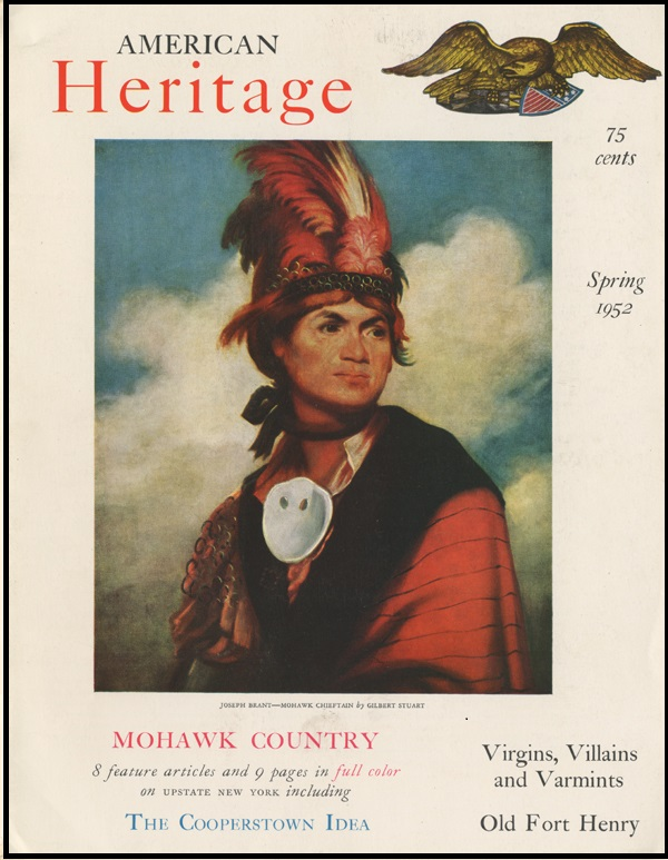 The Spring 1953 issue of American Heritage was one of many published by AASLH.