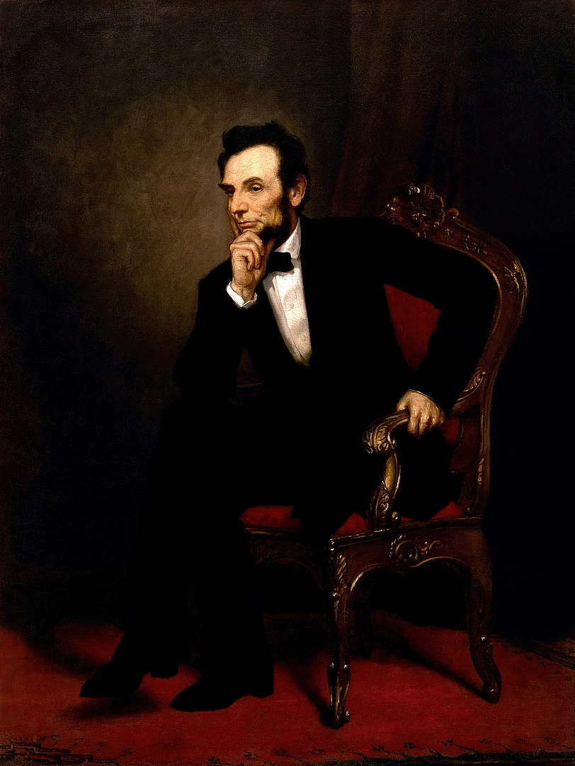 Lincoln oil painting