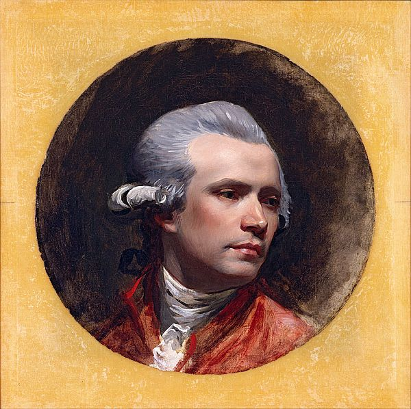 Self-portrait of John Singleton Copley.