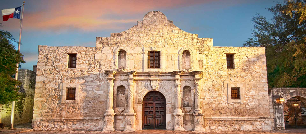 The Alamo at San Antonio