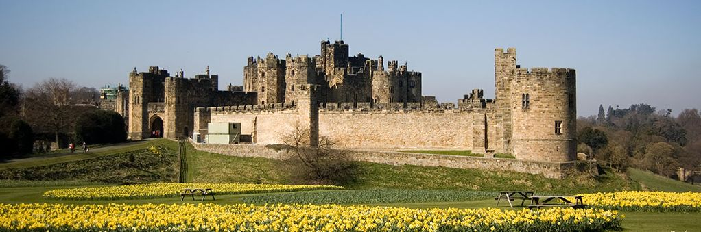 Alnwick Castle near the Scottish border in Northumberland, England, houses one of the greatest collection of maps of the American Revolution.