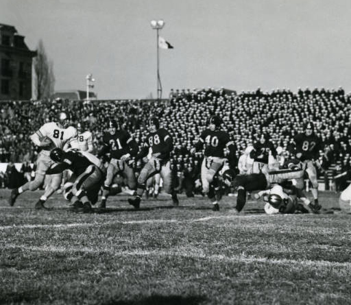 The Army-Navy game was played in Annapolis.