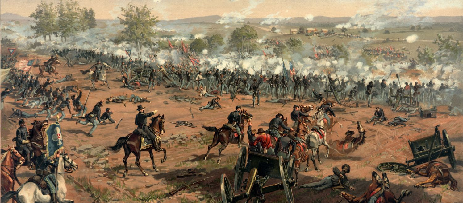 Gen. George Pickett led the famous charge at Gettysburg, a battle that cost the U.S. over 23,000 casualties.