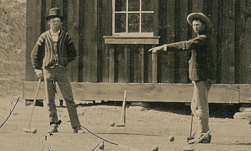 Is this Billy on the left with croquet mallet instead of Winchester?