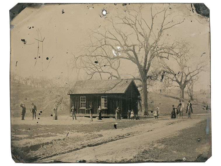 In 2010, a collector named Randy Guijarro paid $2 for a pile of photos in cardboard box. One image is believed by some historians to show Billy and his posse, the Regulators, playing croquet in 1878.