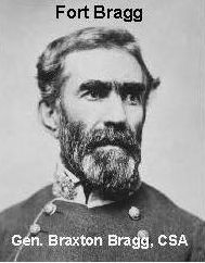 Gen. Braxton Bragg commanded the Confederate army in the West.