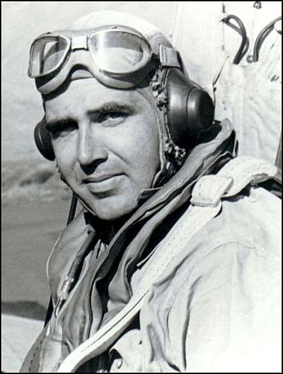 Butch O'Hare won the Medal of Honor for single-handedly shooting down five Japanese planes and probably saving the carrier Lexington.
