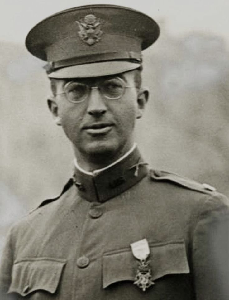 Major Charles Whittlesley, a New York lawyer and Army Reserve officer, won the Medal of Honor as commander of the Lost Battalion.