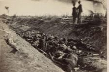 There were nearly 23,000 casualties in a single day at Antietam, including piles of corpses at the Bloody Lane.