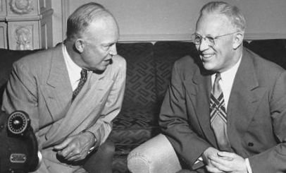 Ike appointed Earl Warren, the moderate Republican governor of California as Chief Justice in 1953. California State Archives.