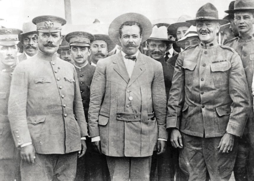 Pershing met with Pancho Villa at Fort Bliss in 1913. A few months later, he was chasing the bandit through Mexico.