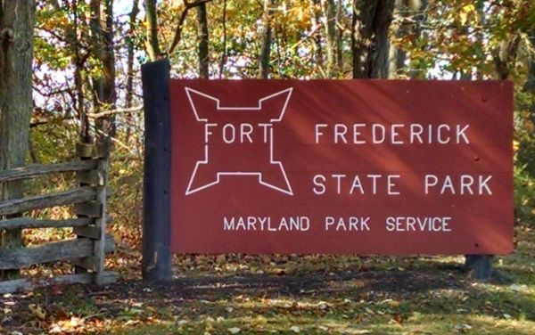 Sign for Fort Frederick