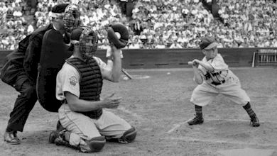 Veeck would try any stunt to please the fans. In 1951 he played Eddie Gaedel, who was 3 foot 7 inches tall. His strike zone was so small no pitcher could get strikes, and Gaedel was guaranteed to get on base with a walk. The League banned such players shortly after.