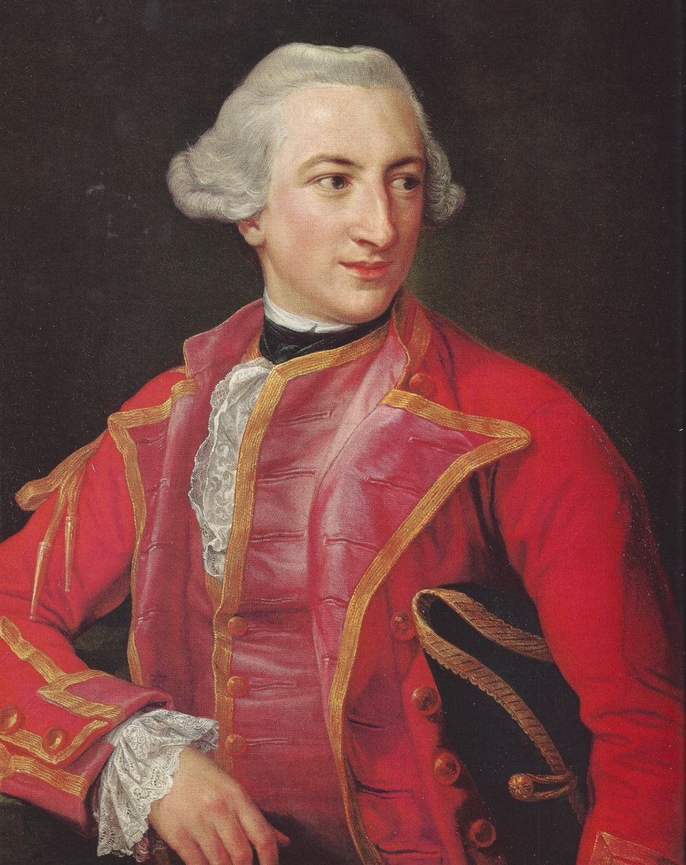 Hugh Percy, joined the British Army as a teenager and rose to the rank of Lieutenant General by the time he joined the forces occupying Boston in 1775.