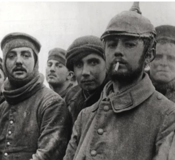 German soldiers in WWI