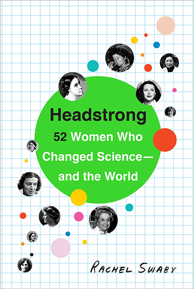 "Book cover of ""Headstrong"" by Rachel Swaby"
