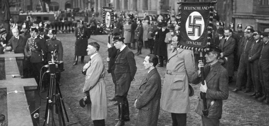 The Spanish flu epidemic may have helped Adolph Hitler rise to power in 1932. He spoke at a Nazi rally at the Lustgarten next to the Berliner Palace on April 2 in that year. National Archives Poland.