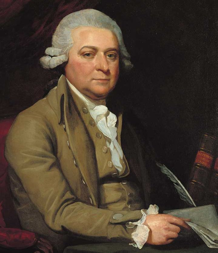 Mather Brown painted John Adams in 1788, a few years after he had insisted in the peace negotiations to end the Revolution that the Ohio territory must belong to the new United States.