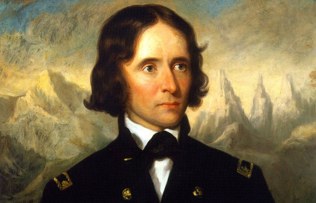 Col. John C. Fremont painted by George Healy. Courtesy Union League Club of Chicago.