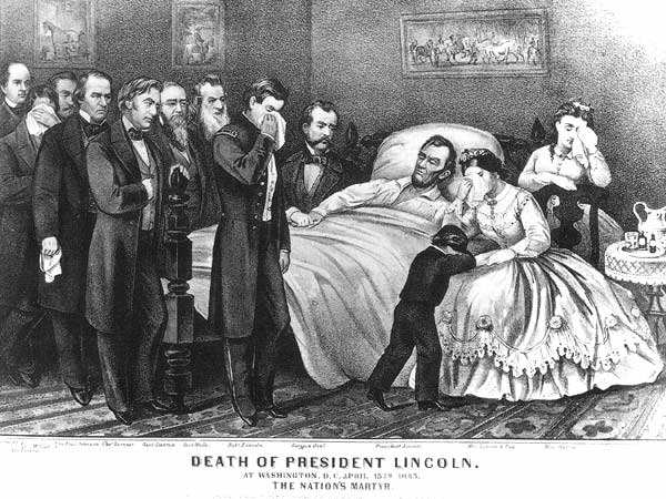 When Lincoln was assassinated, Secretary of War Stanton took charge of the investigation and eventual execution of the conspirators.