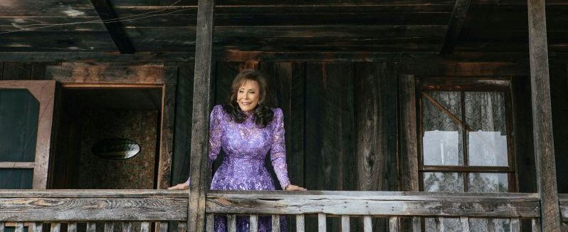 Loretta Lynn recently visited her family's original cabin in Butcher Holler. David McClister.