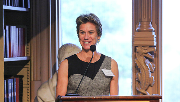 Most recently, Maeve McKean served as Executive Director of the Global Health Initiative at Georgetown University. Photo courtesy Georgetown University.