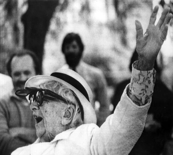 Marjorie Stoneman Douglas was a journalist, suffragette, and conservationist who received the Presidential Medal of Honor for her efforts to save the Everglades.  State Library and Archives of Florida.