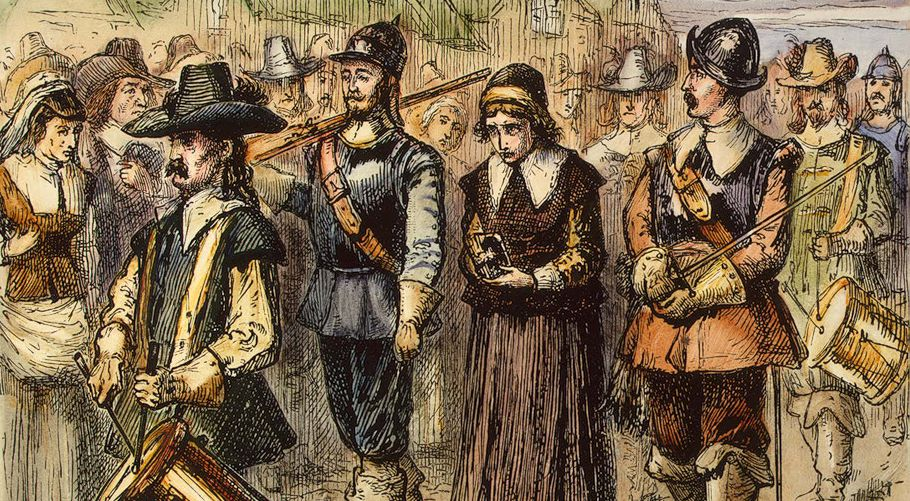 Mary Dyer was hanged on Boston Common June 1, 1660 for worshiping as a Quaker.