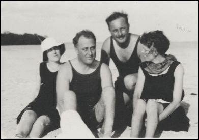 Missy (left) had worked for FDR since before he was stricken with polio in 1921.