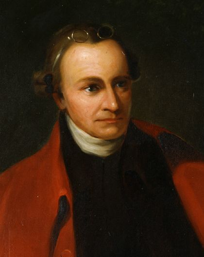 Patrick Henry, painted by George Bagby Matthews