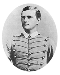 John Pershing graduated in 1886 from West Point having been elected First Captain of the Corps of Cadets, the highest possible rank.