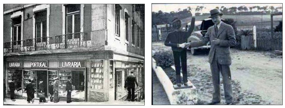 A cooperative bookstore in Lisbon, capital of neutral Portrugal, supplied many of the books to the clandestine intelligence gatherers. One of the key operatives in Lisbon was Reuben Peiss, uncle of the author of this essay.