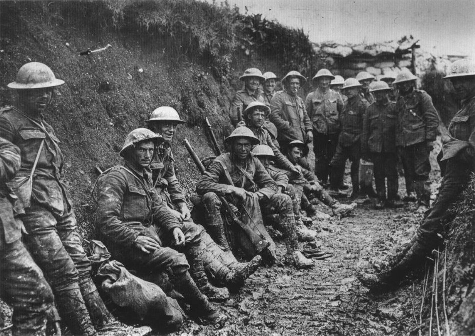 Royal Irish Rifles on the Somme. Wikipedia