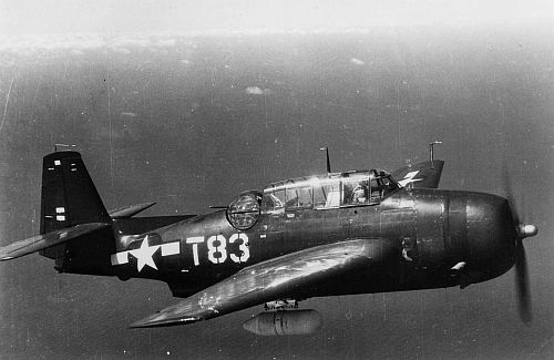 The author served as a gunner in an Avenger bomber, firing the rear-facing turret. The author served as a gunner in an Avenger bomber, firing the rear-facing turret.