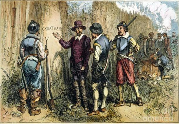 croatoan roanoke island