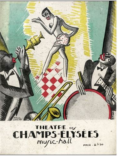 Parisians went wild for jazz after the War. Josephine Baker became a star attraction at the Theatre des Champs Elysees in 1927.