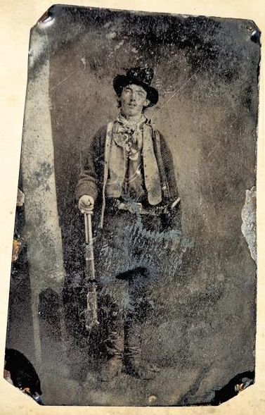 Tintype of Billy the Kid