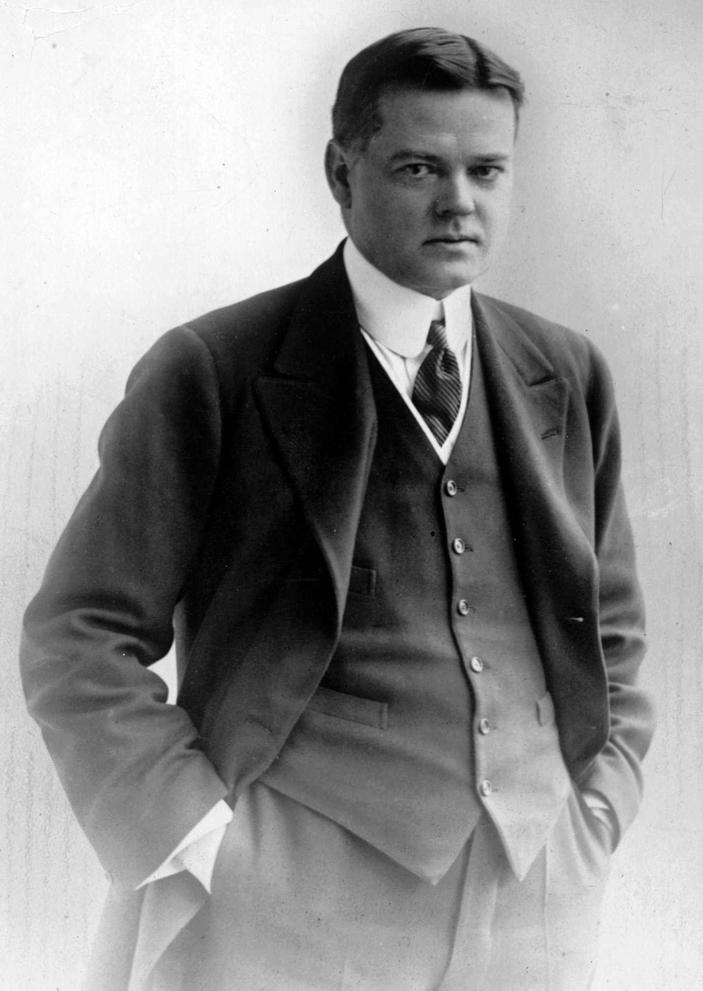 At the start of the war, Herbert Hoover was a 40-year-old mining engineer who was a no-nonsense, ambitious, get-it-done kind of American. He organized and build the Commission for Relief in Belgium (CRB).
