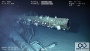 The remains of the USS Nevada were recently found southwest of Hawaii.
