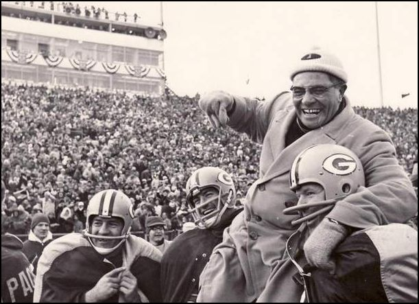 That person would not have believed that winning isn't everything, it's the only thing—the quote famously associated with Lombardi.