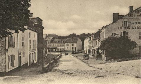 Virton, a small provincial center in the French-speaking part of Belgium, suffered from a massacre of 200 men, women, and children, and then the deportation of many of its able-bodied men to slave camps.