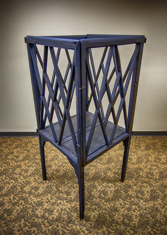 George Whitefield used this collapsible pulpit for preaching in the field.