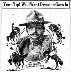 "The men of the 91st ""Wild West"" Division were from California, Idaho, Montana, Nevada, Oregon, Utah, Washington and Wyoming."