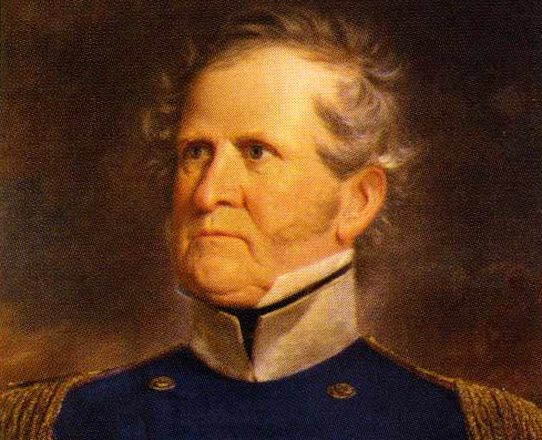 Among the many Virginia officers who opted to stay in the U.S. Army during the Civil War was General Winfield Scott, Lee's former superior.