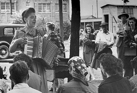 Zilphia Horton taught folk music to many civil rights leaders.