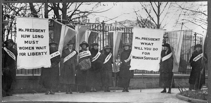 suffrage protest