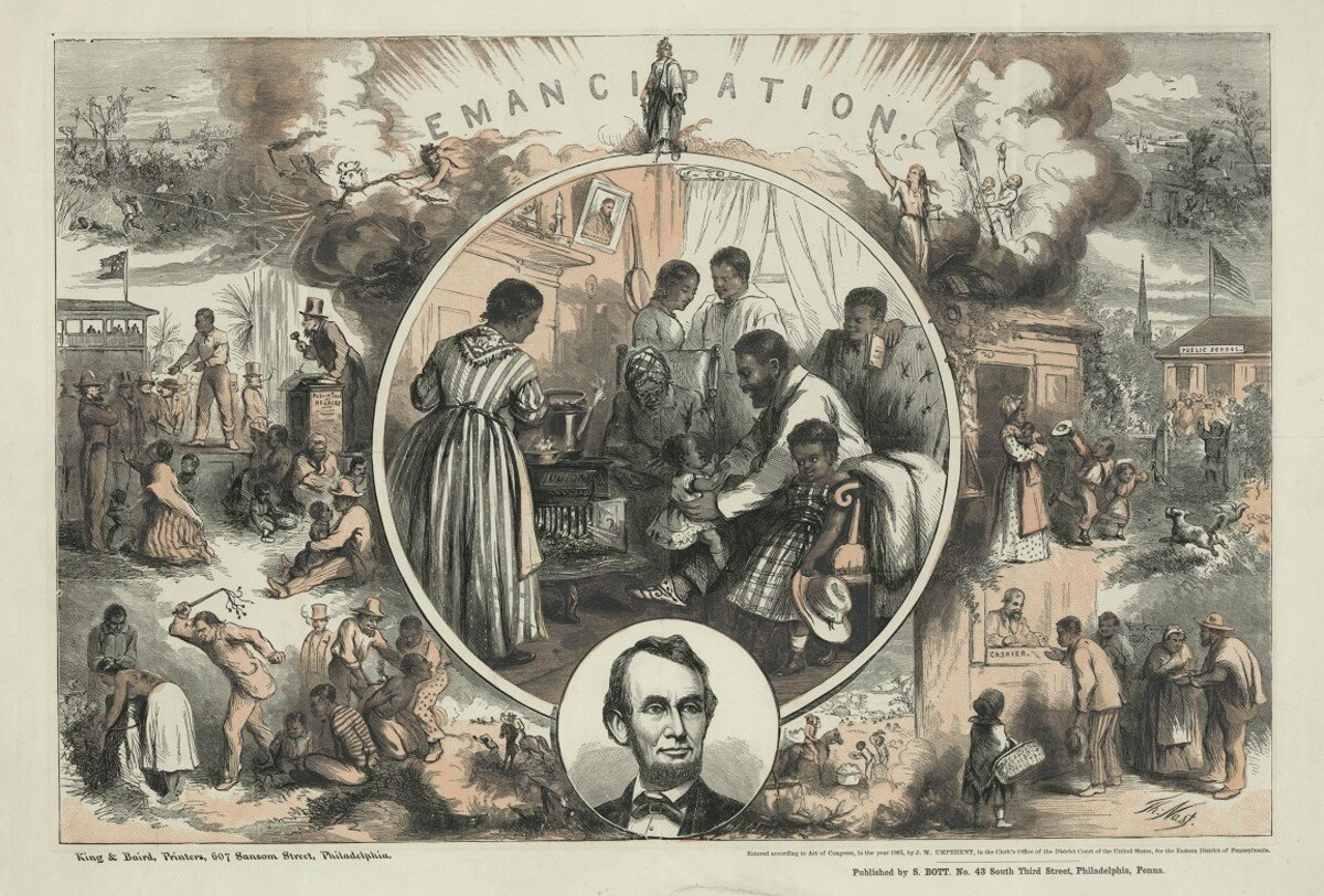 emancipation engraving